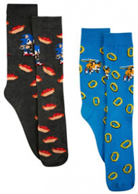 2 pairs of tall sonic Socks in 2020