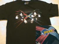 Top Heavy Sonic vs Shadow shirt