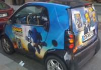 Sonic unleashed promo car