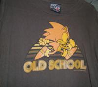 4 classic shirts: Old school, pink, kids and grey shirt