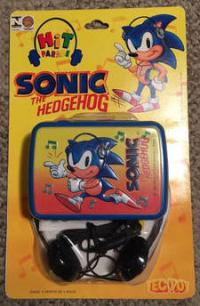 Tec Toy portable Sonic cassete tape player