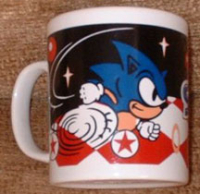 Sonic special stage coffee mug