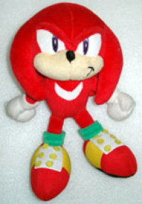 Japanese Knuckles plush sold in China
