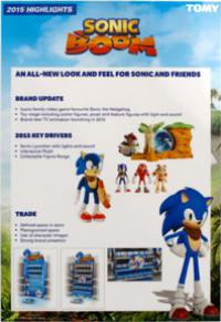 Sonic Boom toy display