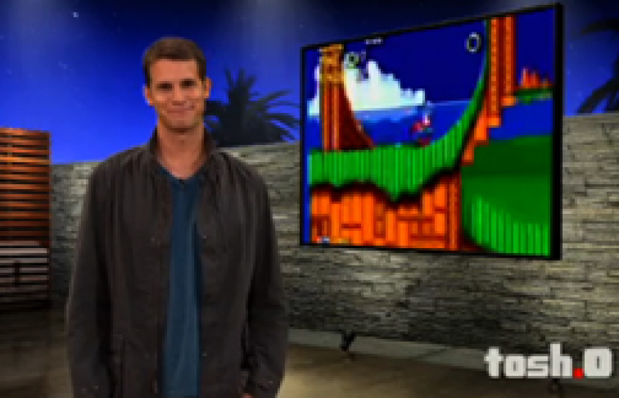 Sonic appears in Tosh.0