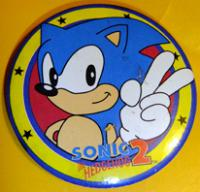 Sonic the Hedgehog 2 pin