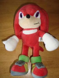 Unknown Sonic-X knuckles plush