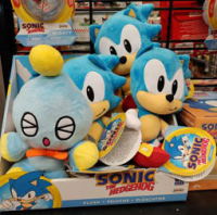 Cheese the Chao plush by Jakks Pacific