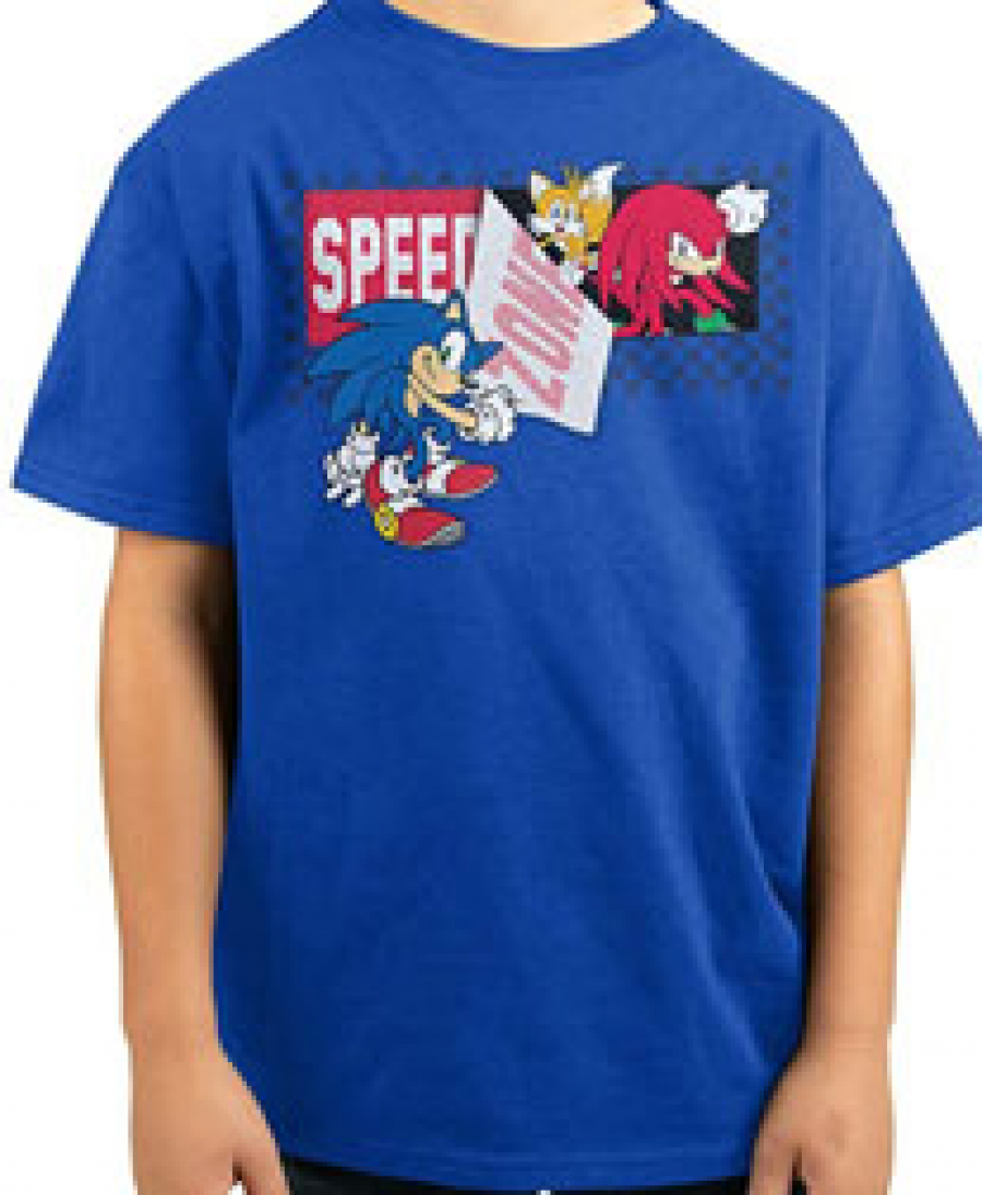 Blue Sonic shirts for 2021