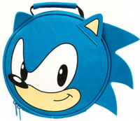 Sonic face lunch box