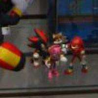 ToyFair Tomy prototypes Shadow, Amy, Tails, Knuckles