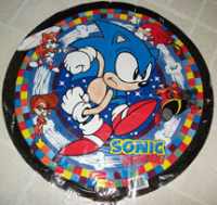 90s Sonic Party Balloon