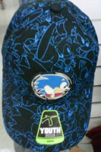 Young size Sonic cap from Kmart