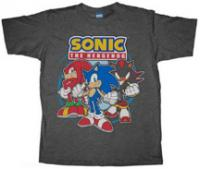 Sonic, Shadow & Knuckles shirt