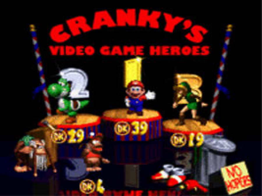 Cranky's video game heroes Sonic Shoes