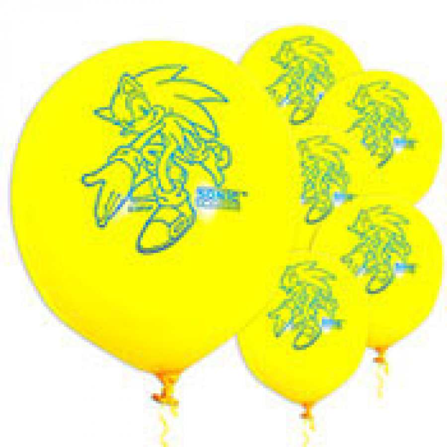 Party City Sonic balloons