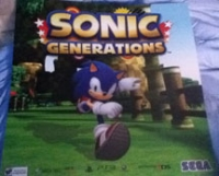 Sonic Generations Game Stop poster